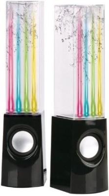 Olixar Water Dancing 6 W Portable Bluetooth  Speaker(Black, 2.0 Channel)