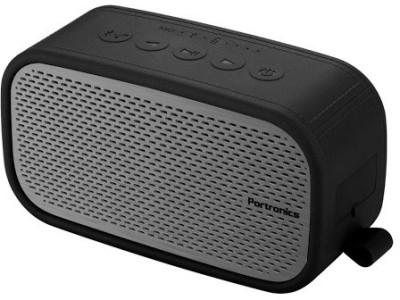 Portronics Posh 6 W Portable Bluetooth  Speaker(Grey, 2.0 Channel)