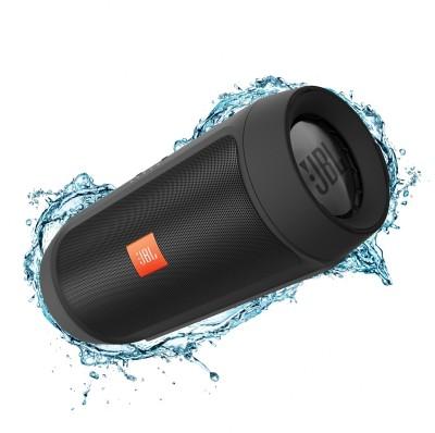 JBL Charge 2 Plus Black Portable Mobile/Tablet Speaker(black, Stereo Channel) at flipkart