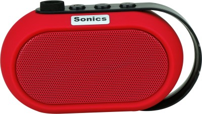 Sonics IN-BT504 Portable Bluetooth Mobile/Tablet Speaker(Red, Mono Channel) at flipkart