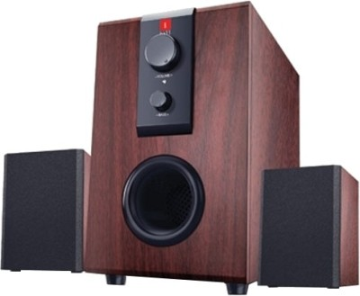iBall Raaga Q9 Multimedia Speaker(Rosewood, 2.1 Channel)  available at flipkart for Rs.1299