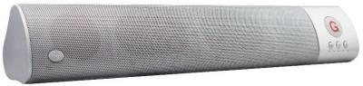 ROQ Wm-1300 High Bass Sound Bar Portable Bluetooth Soundbar(Silver, 2.0 Channel)