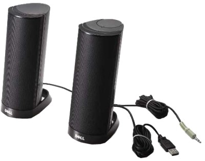 Dell-AX210CR-USB-Stereo-Speaker