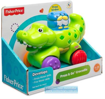 Fisher-Price Press & Go Crocodile