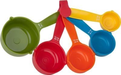 Yangli Set Of 5 Pieces Multicolor Plastic Measuring Spoon Set(Pack of 5) at flipkart