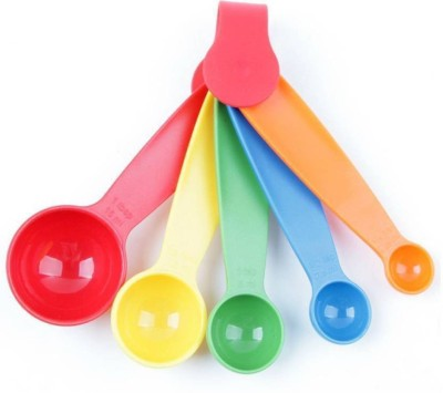 Italish Plastic multi color Measuring Spoon Set Disposable Plastic Cooking Spoon(Pack of 1)  available at flipkart for Rs.119