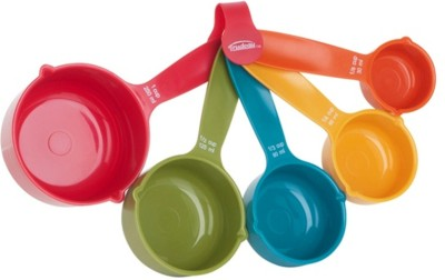 Wonderchef Plastic Measuring Spoon Set(Pack of 5) at flipkart