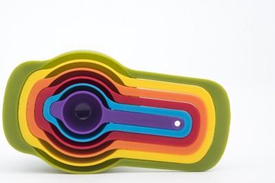 Godskitchen Plastic Measuring Spoon Set(Pack of 6) at flipkart