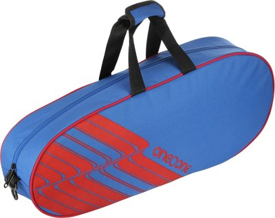 One O One Lines Collection Single Blue   Badminton / Tennis Kitbag Sports bag Multicolor, Kit Bag One O One Gym Bag