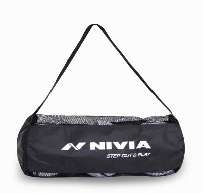 Nivia Ball Carrying Bag 3 Balls Black, Kit Bag
