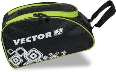 Vector X SHOE BAG BLK GRN Shoe Bag Black, Kit Bag Vector X Gym Bag