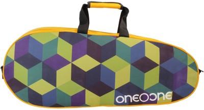 One O One Canvas RVCB02BK Yellow/Multicolour Multicolor, Kit Bag One O One Badminton Bag
