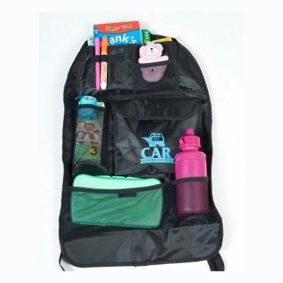 Italish Back Seat Organizer Black, Backpack