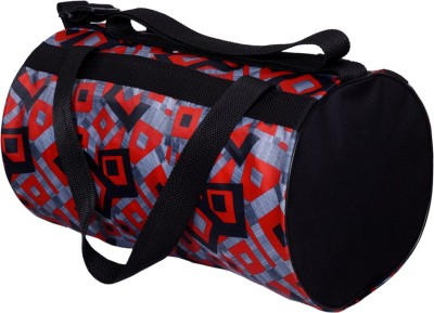 gag wears Gym Sports Bag(Black, Kit Bag)