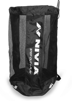 Nivia 9 Ball Carrying Kit bag Black, Kit Bag