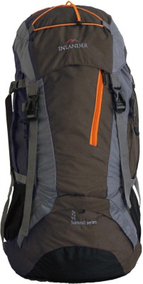 Inlander Decamp Rucksack  - 55 L(Brown) at flipkart