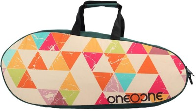 One O One canvas single sport bag Beige, Kit Bag One O One Badminton Bag