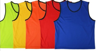 Sahni Sports 6 Sport Bibs(Red, Blue, Green, Orange, Yellow, Pink, Purple)