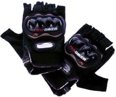 meenu arts PRO HALF m11 Riding Gloves Black