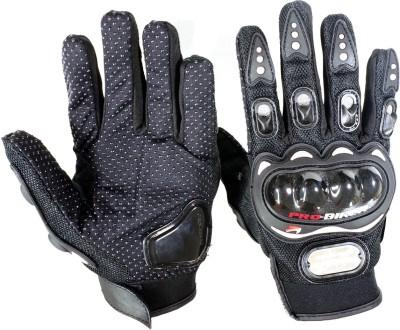 Pa PROBIKER(FULL)-BLK-XL-168 Driving Gloves(Black)