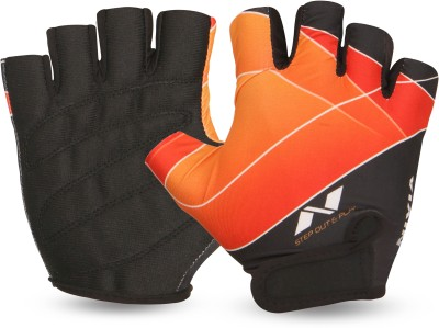 Nivia Crystal Gym & Fitness Gloves (M, Multicolor)
