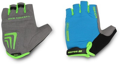 Vector X BIKER-CYC-GLOVES Cycling Gloves (M, Multicolor)