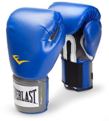 Everlast Pro Style Training Boxing Gloves(Blue)