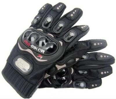 Pa PROBIKER(FULL)-BLK-XL-1142 Riding Gloves(Black)