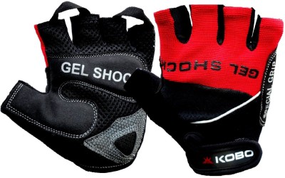 KOBO Exercise Weight Lifting Grippy Hand Protector Padded SG2 Gym   Fitness Gloves Assorted KOBO Gym Gloves