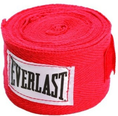 Everlast 4455RP Red Boxing Hand Wrap(Red, 120 inch)