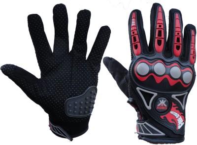 Pro Biker 3805 Cycling Gloves (XL, Red, Black)