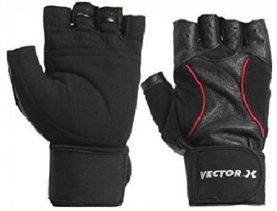 Richard Academy Gym & Fitness Gloves (Men, Red, Black)