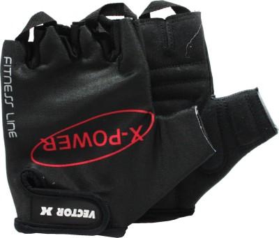 Vector X VX 300 Gym & Fitness Gloves (S, Black)