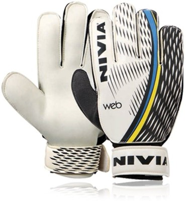 Nivia Web Goalkeeping Gloves Multicolor Nivia Football Gloves