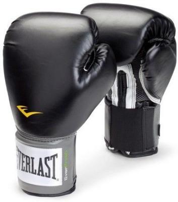 Everlast Level 1 Prostyle 12Oz Black Boxing Gloves Black Everlast Boxing Gloves