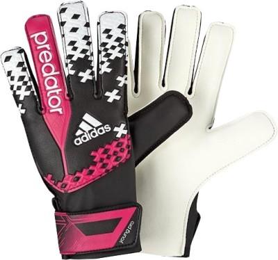 Adidas Pred Young Pro Goalkeeping Gloves (Size-6, Orange, Blue)