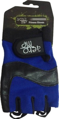 Aerolite CRSFTR220803 Gym & Fitness Gloves (XL, Blue) at flipkart