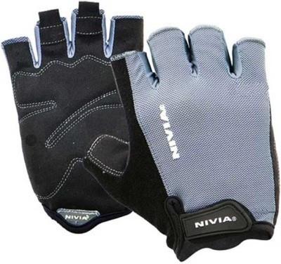 Nivia Python Gym & Fitness Gloves (L, Blue, Black) at flipkart
