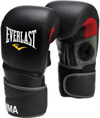 Everlast ProTex2 MMA Clinch Martial Art Gloves (XL, Black) at flipkart