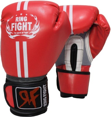Ring Fight Pro Boxing Gloves Red Ring Fight Boxing Gloves