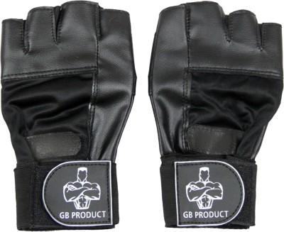 GB BEST Beginner Gym & Fitness Gloves(Black)