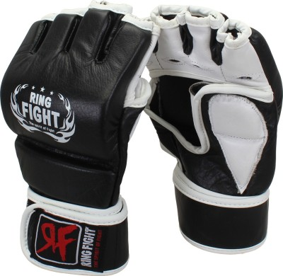 Ring Fight Grappling Gloves Boxing Gloves Black, White Ring Fight Boxing Gloves