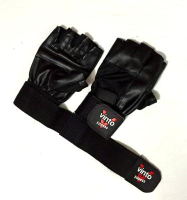 Vinto Better Bodies Basic Gym   Fitness Gloves Black