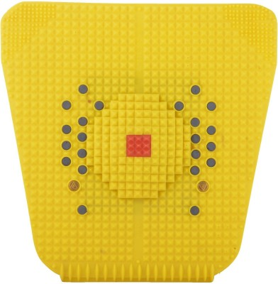 NP NAVEEN PLASTIC Acupressure Foot Mat With Magnets And Copper For Stress And Pain Relief Yellow 3 mm Equipment Mat  available at flipkart for Rs.127