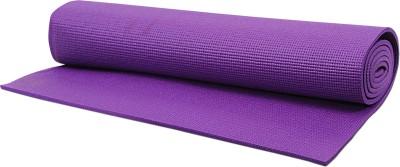 Pasricha Sports And Fitness Anti Skid Purple 6 mm Yoga Mat