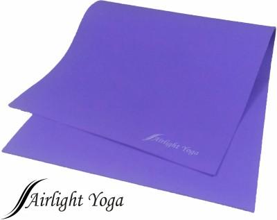 Air Light Rubberised 5 feet Purple 4 mm Yoga Mat