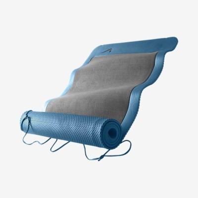 Nike Ultimate Pilates Blue, Black 8 mm Yoga Mat