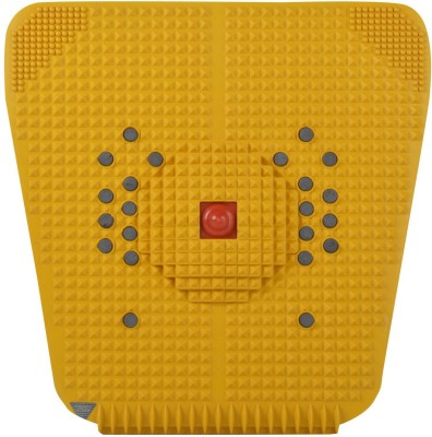 Acupressure New foot Mat Yellow With Magnetic mm Equipment Mat  available at flipkart for Rs.128