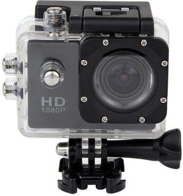 CM sportcam sporte action waterproof 2 inch screen Sports and Action Camera(Black, 12 MP)