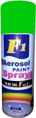 f1 green Spray Paint 450 ml(Pack of 1) at flipkart